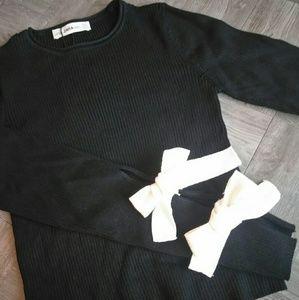 Zara BOW Laced Sleeve Knitwear